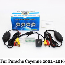 Car Backing Camera For Porsche Cayenne 2002~2016 / RCA AUX Wire Or Wireless / HD CCD Night Vision / Vehicle Rear View Camera