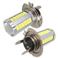 2x H7 LED Light 5630 Chip 33 SMD LED Auto Car Light Lamp Bulb Xenon White