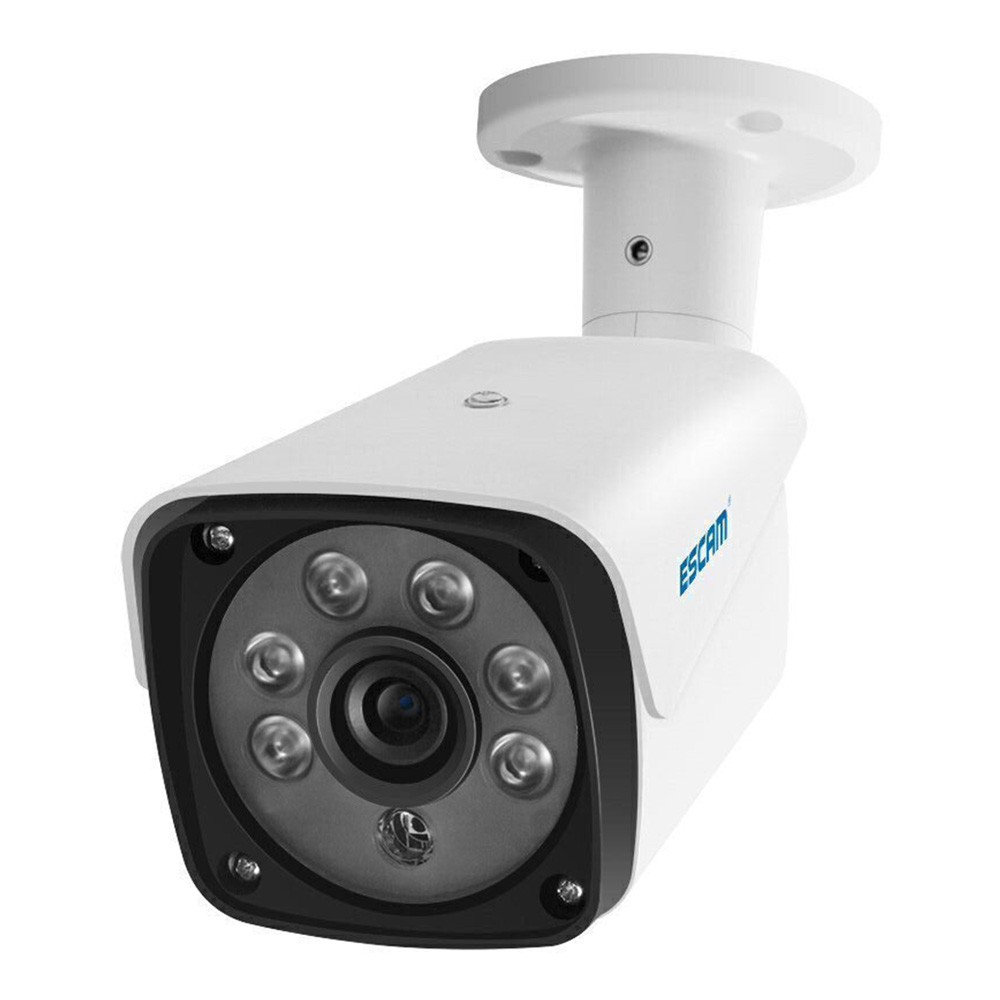 ESCAM QH002 1080P HD Outdoor Bullet Camera Waterproof IP Camera with Motion Detection IR Night Vision For Home SafetyESCAM QH002 1080P HD Outdoor Bullet Camera Waterproof IP Camera with Motion Detection IR Night Vision For Home Safety