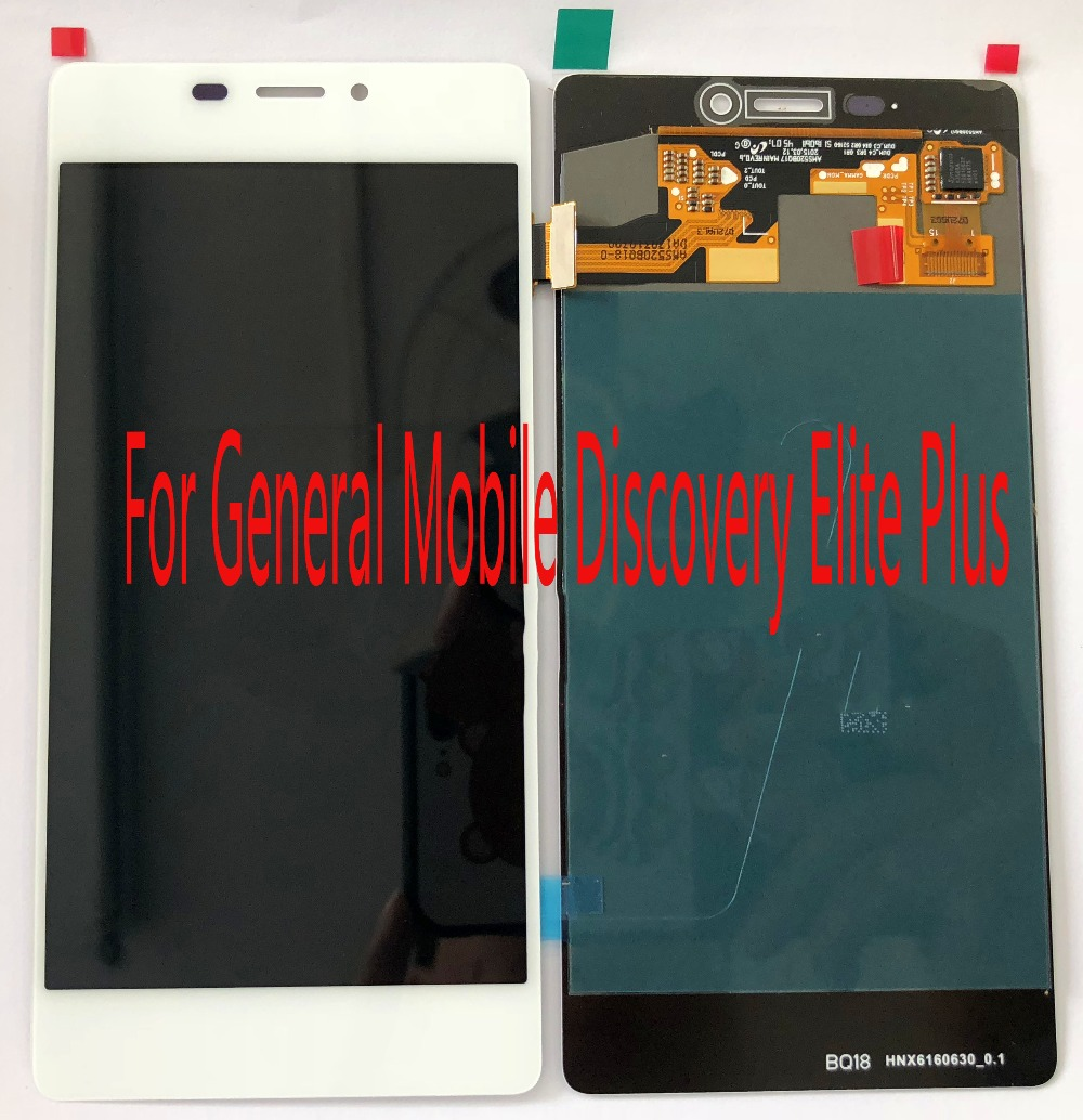 For General Mobile Discovery Elite Plus  Screen assembly +LCD or Touch glass replace Repair screen FreeshinppingFor General Mobile Discovery Elite Plus  Screen assembly +LCD or Touch glass replace Repair screen Freeshinpping