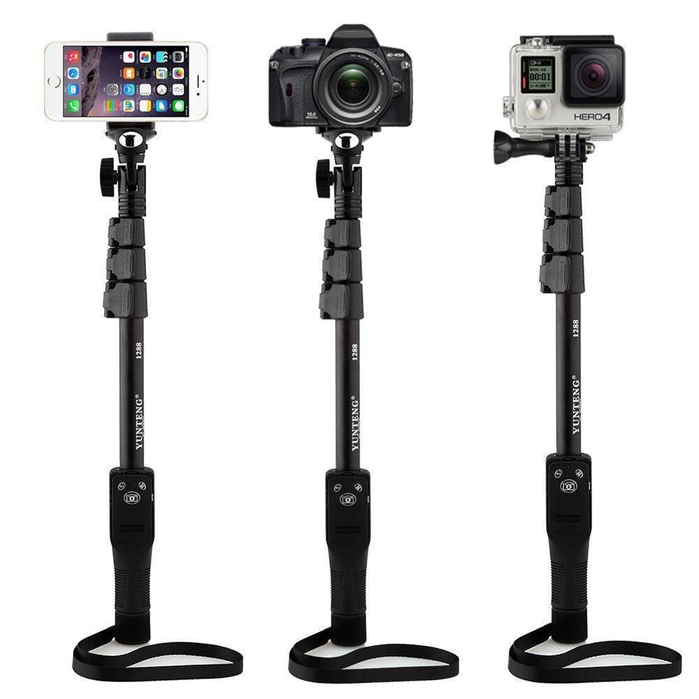 Original YUNTENG Bluetooth Control remoto inalámbrico Self Stick 50 - Cámara y foto - foto 6