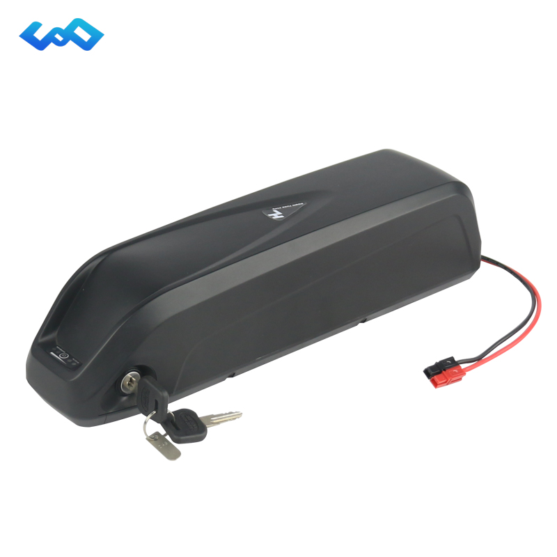 US EU No Tax Shark Battery Pack 36V 10.4Ah eBike Lithium ion Battery for Bafang 36V 250W 500W Electric Bike+BMS+Charger eu us free tax 36v 500w 350w ebike 36v 17ah bottle battery pack electric bike dolphin lithium battery with usb and bms