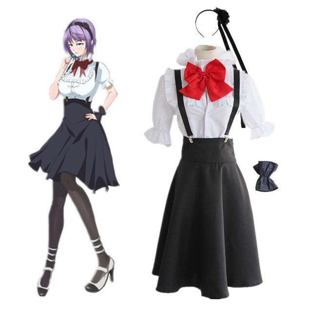Shidare Hotaru Cosplay Kostum Anime Jepang Dagashi Kashi Pakaian