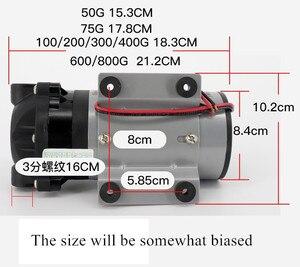Image 3 - Мембранный насос, 75 400 gpd 24 В, водяной насос с натуральным давлением, детали вакуумного фильтра для воды для жилой системы обратного осмоса