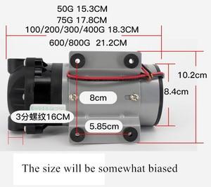 Image 3 - 75 400 gpd 24v hidrofor diyaframlı pompa doğal basınç vakum su filtresi parçaları konut ters osmoz sistemi