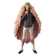 цены 18CM One Piece Joker Donquixote Doflamingo Flamingo Figure  PVC Action Figure Model Kids Gift