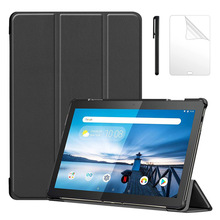 PU Case for Lenovo Tab M10 TB-X605F TB-X605L Slim Magnetic S