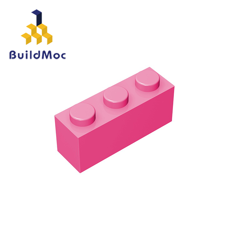 BuildMOC Compatible Assembles Particles 3622 1x3 For Building Blocks Parts DIY LOGO Educational Creative Gift Toys
