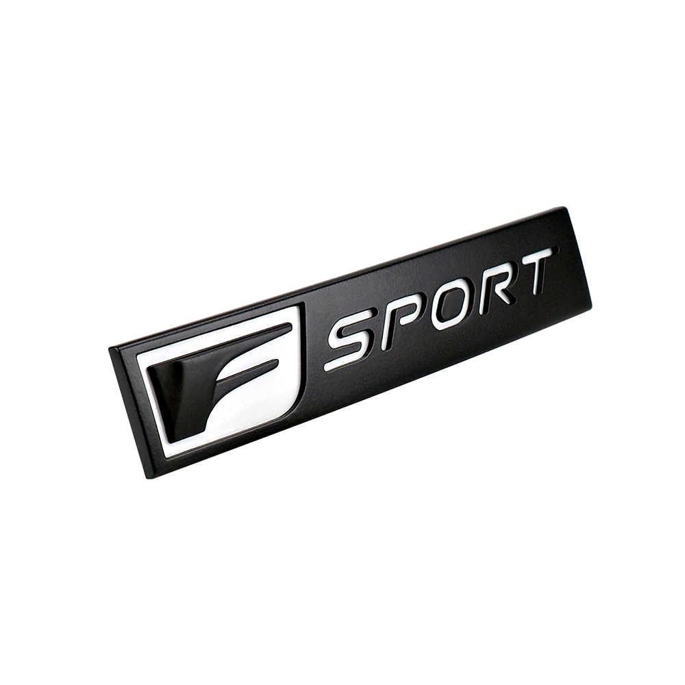 F-SPORT Emblema Fender Carro Cauda 3D Etiqueta Para Lexus RX300 IS300 NX GS300 CT GX470 IX350 ES LS RC F acessórios Do Carro decalque