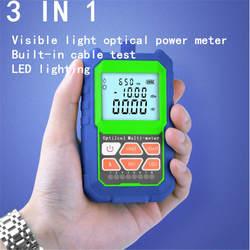 635nm, 650nm, 780nm, 850nm Видимый Свет Пластиковый волоконно-оптический измеритель мощности, тестовый Пластиковый волоконно-оптический аудио