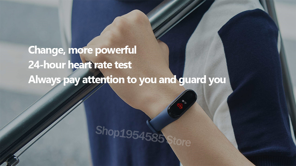 Xiaomi Mi Band 4 Smart Watch Standard Version Heart Rate Activity Fitness Tracker Smart Band Bracelet Colorful Display 2019 New (25)