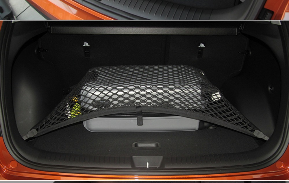 High Elastic Custom Fit Single Layer Car Trunk Nets Cargo