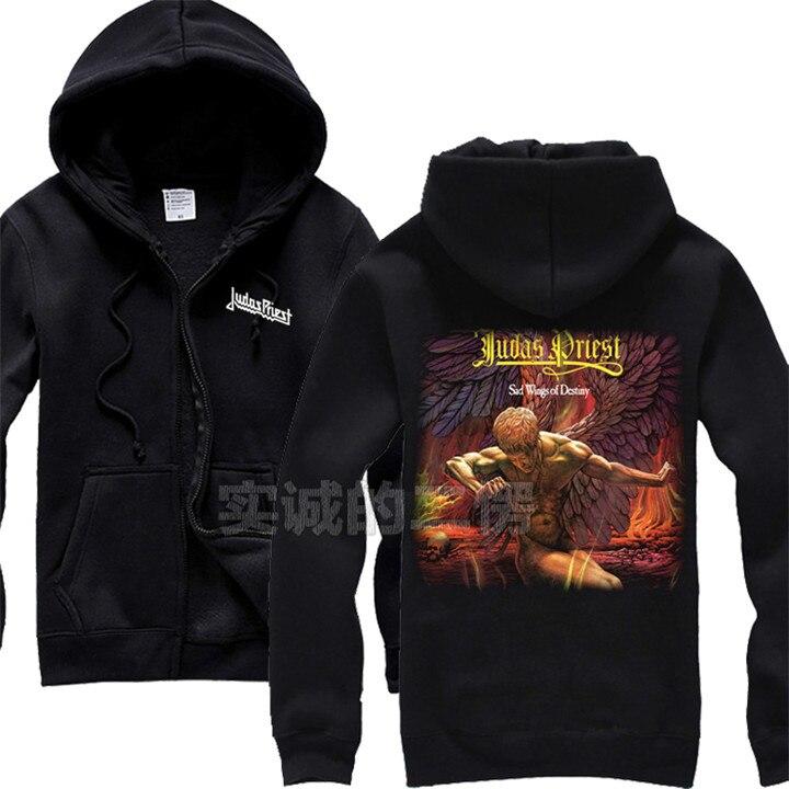 12 видов крутых клинок Judas Priest Rock черная толстовка с капюшоном в виде ракушки куртка Панк Череп Демон металлический свитшот на молнии Sudadera 3d принт - Цвет: 7