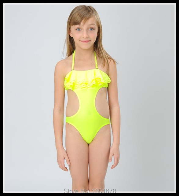 Professional One Piece Eu Size   Kids Girls Swimwear Of Online Selling Young Leafs Girls Bathing Suit