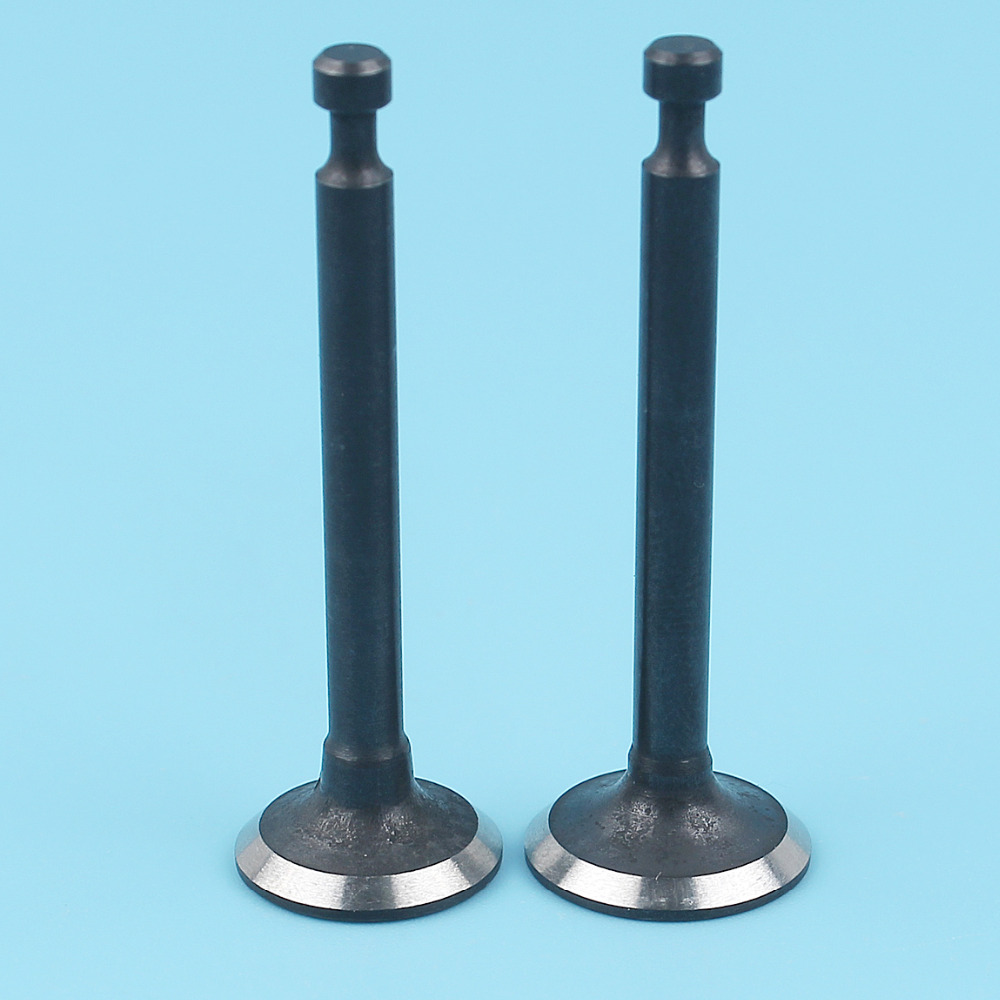 Intake & Exhaust Valve Set For Honda GX25 Engine FG110 HHT25S Tiller Brush Cutter Trimmer Part 14711-Z0H-00 14721-Z3E-000