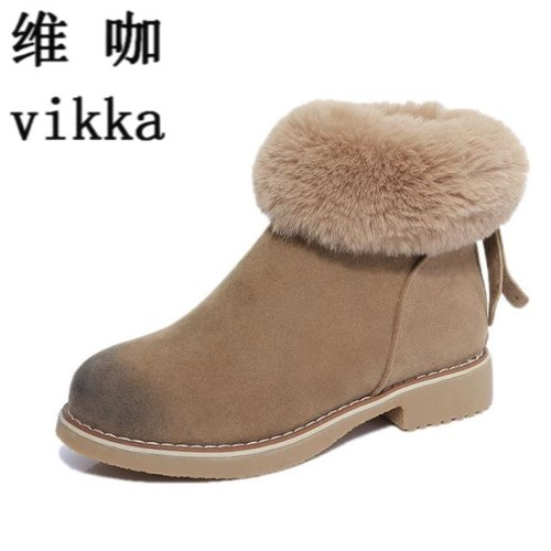 Women winter snow boots warm  Fashion Women Winter Boots Female Snow Plush Ankle Boots Flock Zip Warm Shoes Zapatos Mujer Botas 2016 new arrival ankle boots for women fashion winter shoes warm plush snow boots shoe bowtie women boots polka dot botas mujer
