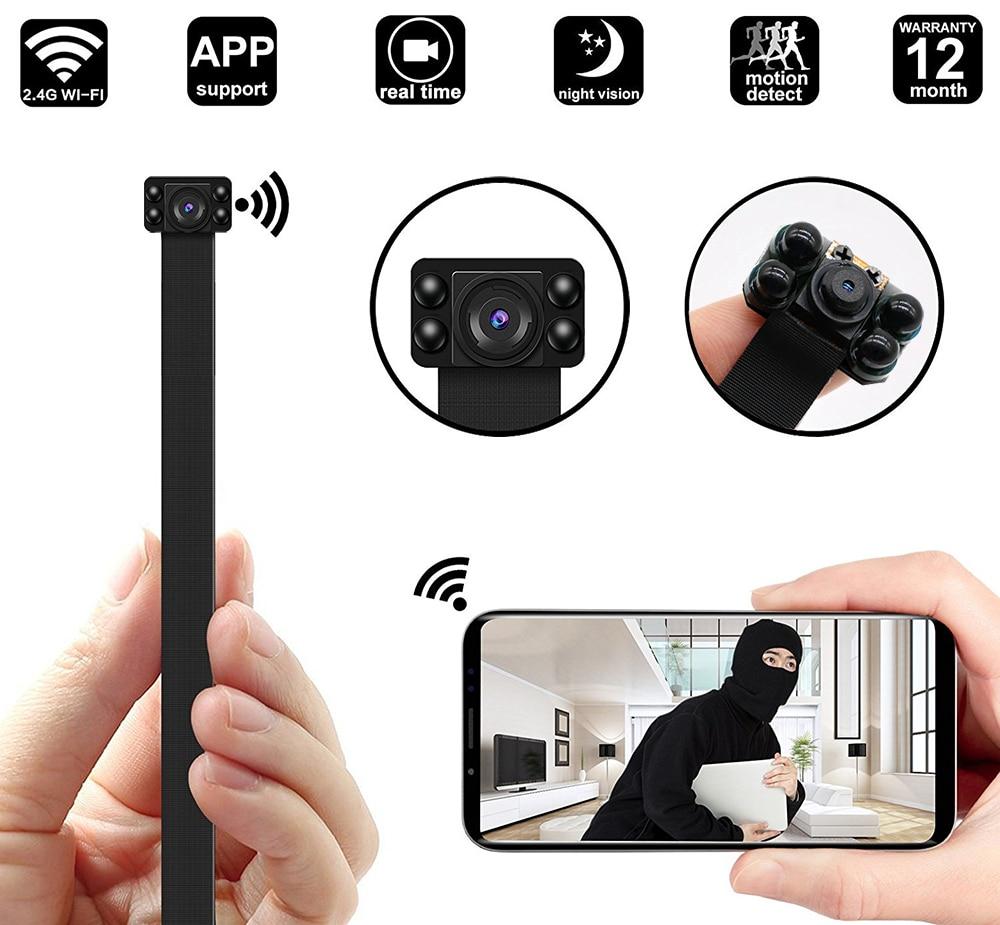 HD1080P Wireless Wifi Mini Camera DIY Module Support 128G Mini Portable With Battery Night Vision Video Cameras Works Camera