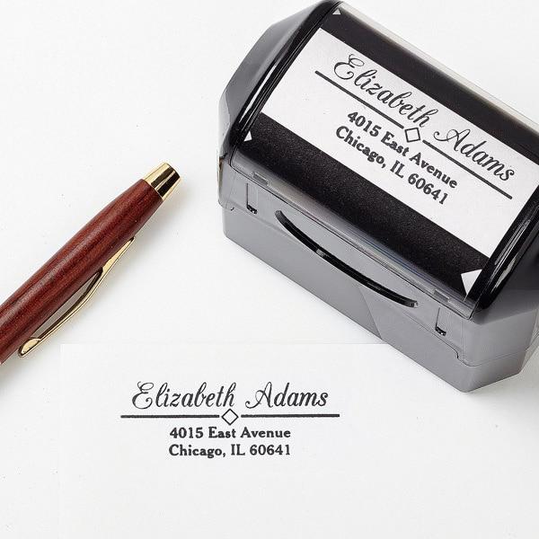 GoldenStamp Custom Signature Stamp&Custom Name ...