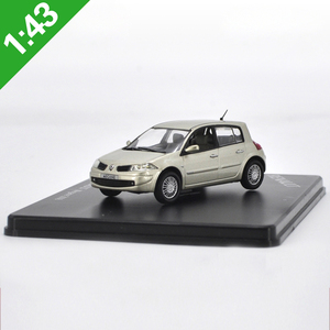 1:43 Renault Megane 2006 Metal Model Car Original factory 4S Selling Gift For Collection & Gift & Decoration(China)