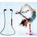 Preço de fábrica binmer sweatproof esporte bluetooth 4.1 sem fio fones de ouvido fone de ouvido para microfone chamada mmar15 transporte da gota