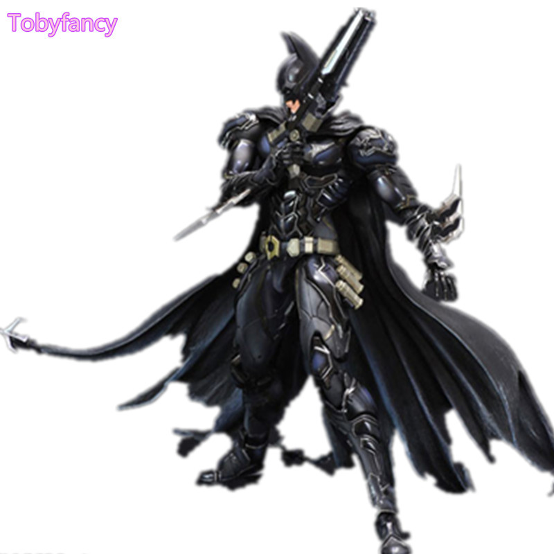 Batman Figure Play Arts Kai PVC Action Figure Blue-Black Version Batman Play Arts KAI 26cm Doll Toy Figurine world of warcraft wow pvc action figure display toy doll dwarven king magni bronzebeard