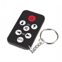 1pc TV Mini Keychain Ultra-thin multi-function Remote Control controller for Philips for Sony for Panasonic for Toshiba