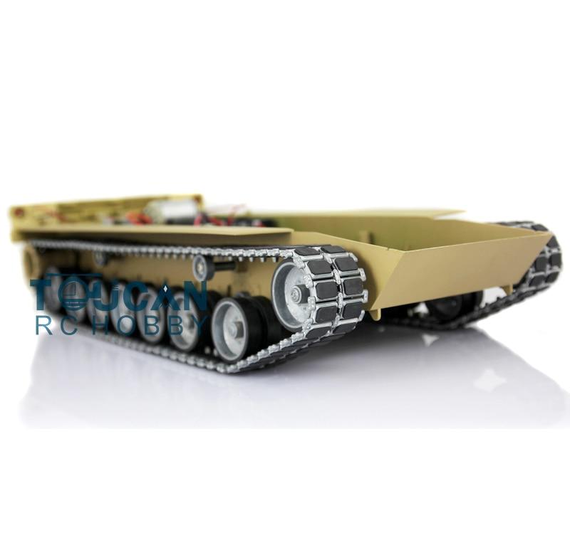 HengLong 1/16 3918 Desert Abrams RC Tank Plastic Chasis W/ Metal Tracks Wheels радиоуправляемый танковый бой huan qi abrams vs abrams масштаб 1 24 27mhz vs 40mhz