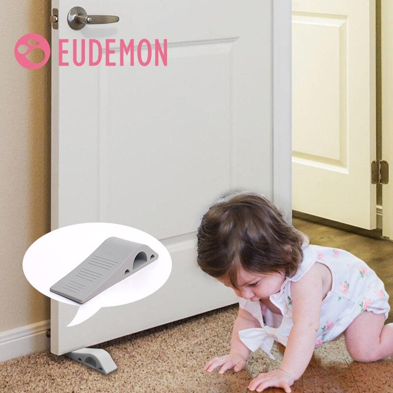 EUDEMON 4pcs/lot Security Door Stopper Child Protection On The Door For The Door Retainer