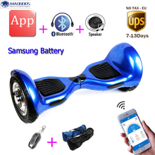 Hoverboard 10 Inch APP Electric Scooter Hoverboard Self Balancing Scooter