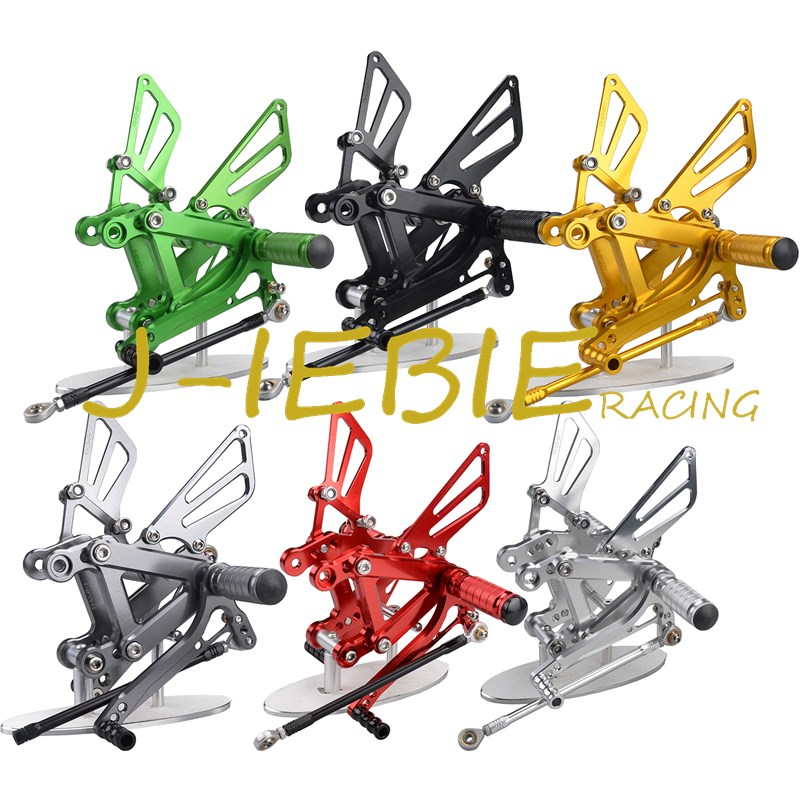 CNC Racing Rearset Adjustable Rear Sets Foot pegs Fit For Kawsaki NINJA ZX6R 2003 2004 morais r the hundred foot journey