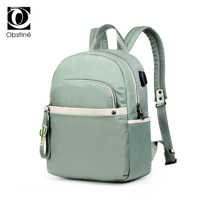Youth Backpacks for School Teenagers Girls Waterproof Oxford Backpack for  Women USB Charger Schoolbag Woman Solid Design Bagpack fe5752959cb4a