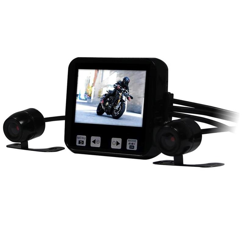 """""""Новый 2.0"""" экран"""" Сенсорный ключ С6 черного ящика автомобиля двойной объектив мотоцикл DVR видеокамеры рекордер Поддержка GPS и G-сенсор"""""""