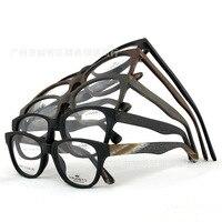 Wholeslae Handmade Eye Glasses Men Women Acetate Frame Wooden Glasses Gafas De Sol K8997A 10PCS LOT