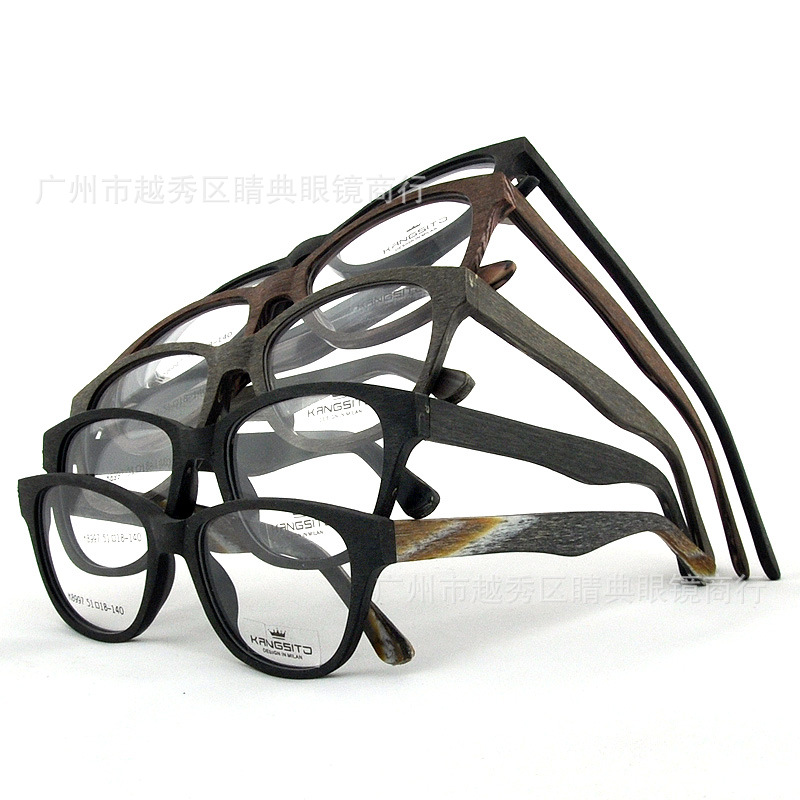 wholeslae handmade eye glasses men women acetate frame wooden glasses gafas de sol k8997a 10pcs