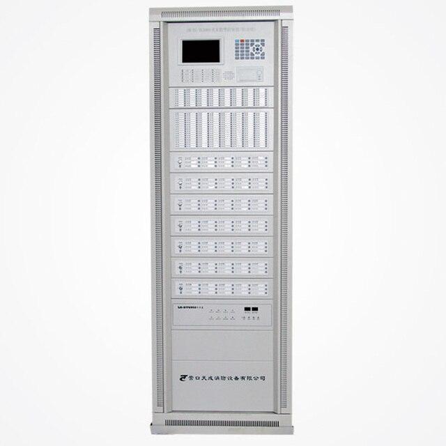 4 loops Fire Alarm Control Panel 255 addressable points per loop ...