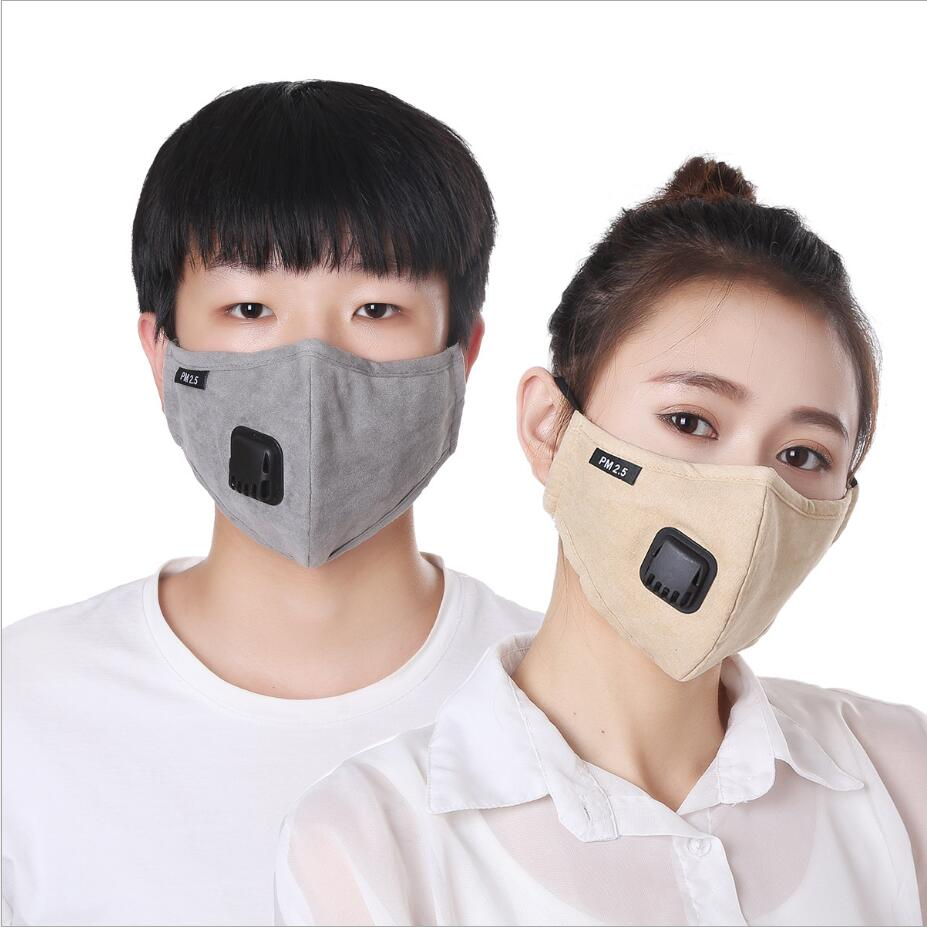 Masks Respirator 5 Anti-dust Filter Mouth-muffle Breath Cotton Mouth Kn95 Black Activated Mask Valve Haze Anti Pm2 Carbon