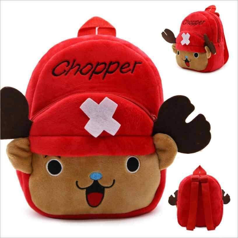 Bonito de pelúcia crianças mochilas mochila do jardim infância 3d dos desenhos animados anime animal crianças mochila sacos de escola para meninas menino