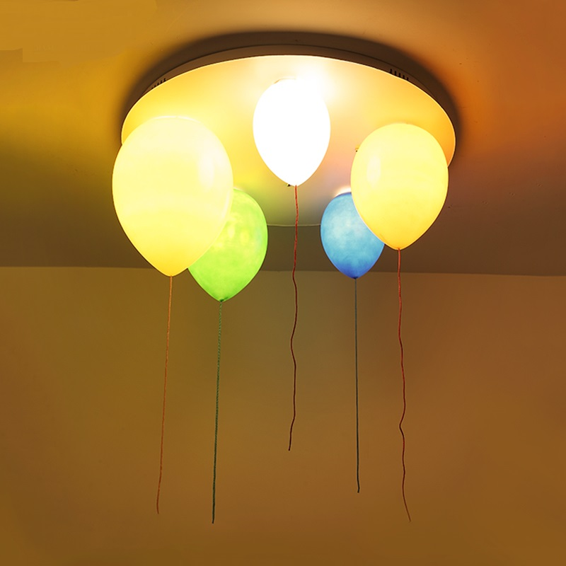 Color balloon children room boys and girls simple aisle creative personality restaurant lights bedroom lights led Ceiling Lights