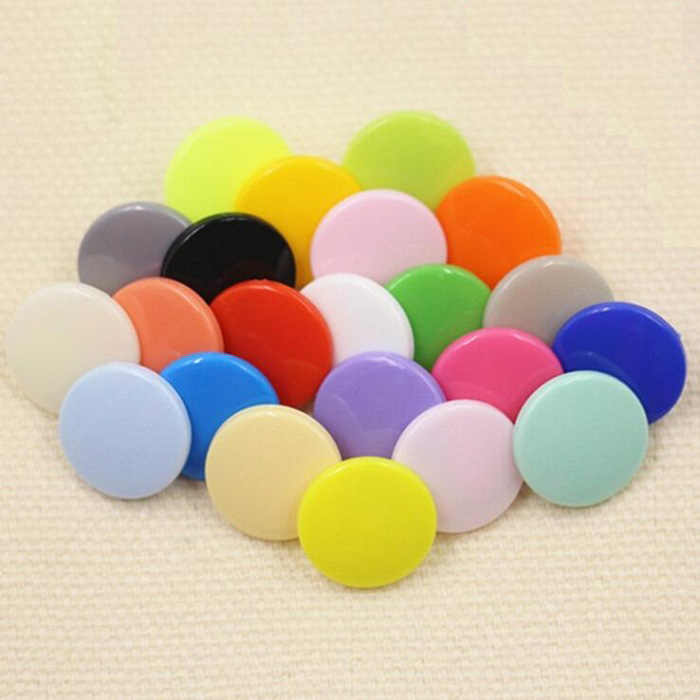 4in one Snap Buttons T3 10mm Fasteners Press Stud plastic resin for handmade Gift Box Scrapbook Craft DIY Sewing Accessories