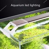 Nicrew SUNSUN ADP водное растение SMD светодиодное освещение аквариум Chihiros 7500K 5W 9W 13W 17W ультра тонкий алюминиевый сплав для аквариума