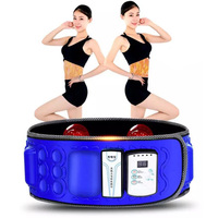 Rechargeable Wireless X5 Sauna Heating Slimming Massager Belt Belly Waist Anti Cellulite Weight Loss Fat Burner Therapy Massage