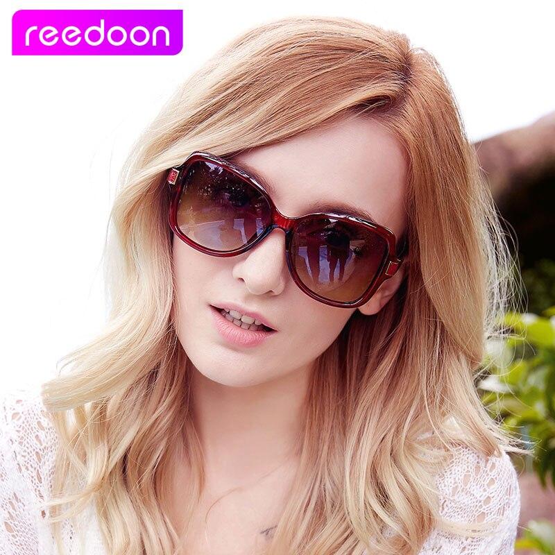 Reedoon Nouvelles Femmes de Lunettes De Soleil De Mode Lunettes de Soleil Polarisées Gafas Polaroid lunettes de Soleil Femmes Marque Designer Conduite Oculos 40102
