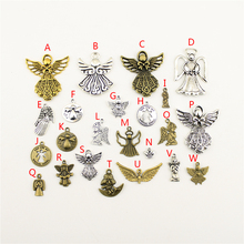20Pcs Wholesale Bulk Diy Jewelry Accessories You Are My Special Angel Hand Made Charms Charm Women Backless Dress HK133