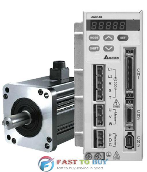 все цены на CNC Delta 750W 0.75KW AC Servo System Drive Motor Kits AB Series ASD-A0721-AB + ECMA-C30807PS онлайн