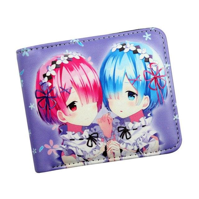 rem Wallet Re:Zero kara Hajimeru Isekai Seikatsu wallet girl coin purse holder