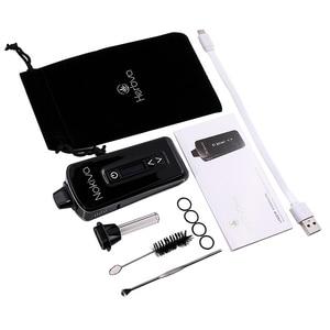 Image 5 - Original Airistech Herbva Nokiva Dry Herb Vaporizer Vape Pen Kit Ceramic Coil Heating Chamber OLED Touch Screen Vape Pen Kit