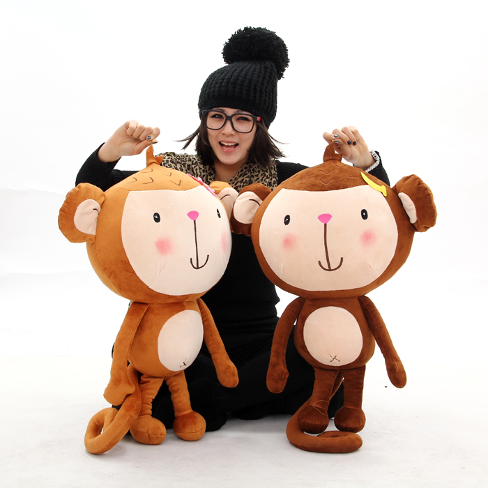 Best selling!! 28cm Soft Plush toy you laugh monkey doll ...