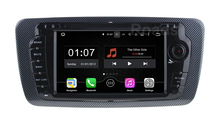 Quad core 1024*600 Android 5.1.1 Car DVD Player GPS for Seat Ibiza 2009 – 2013 with WiFi Bluetooth Radio GPS