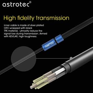 Image 3 - Astrotec AM700 AM700M Siêu Bass Trong Tai Nghe Chụp Tai Hifi Năng Động Stereo Tai Nghe Cắm Dây 3.5 Mm Cho Điện Thoại Di Động MP3 iPhone Huawei