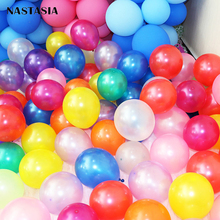 5 inch Pearl Balloon 100pcs/lot High Quality Thicken Circle Latex Balloon Wedding Party Balloon Arch standard colors